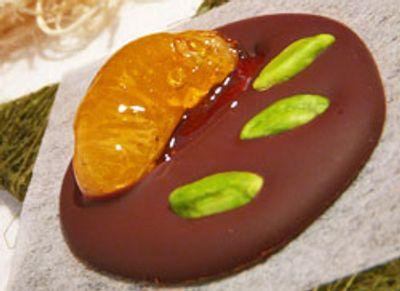 Mendiant chocolat clementine