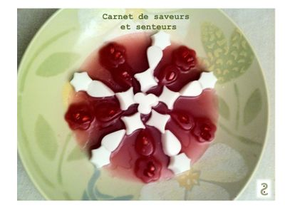Flocon coco jasmin grenade framboise - Dao Nguyen