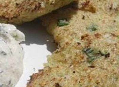 Galettes aux flocons de quinoa