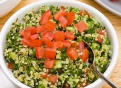 Timbale de boulgour aux carottes et oignons