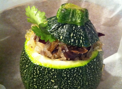 courge farcie