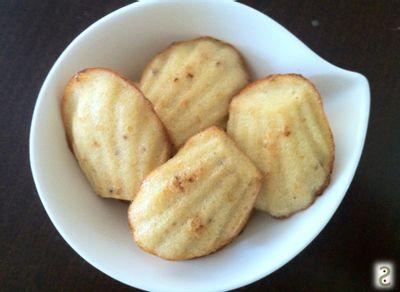 Mini madeleines noglu à l'okara