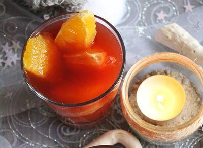 soupe d'agrumes pour un jeudi veggie