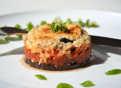 Moussaka végétarienne à la poudre d'amande par lesrecettesdejuliette