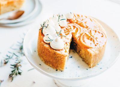 cake orange vapeur