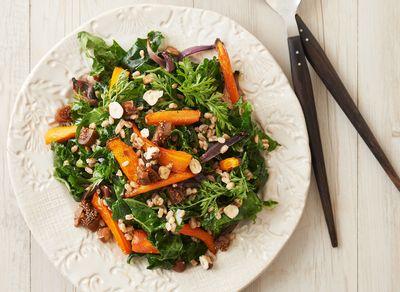 salade carottes roties