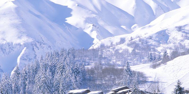 les montagnes de valmorel