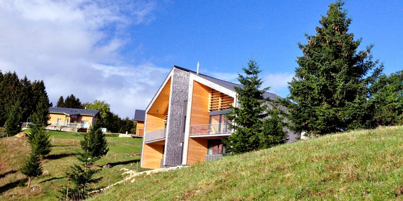 Gîtes contemporains dans le Haut Jura