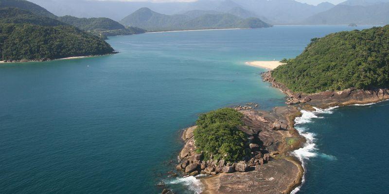 Ile Picinguaba Brésil