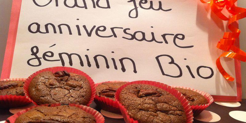 Brownie au noix de pécan et au cœur fondant