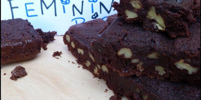 Brownie au noix de pécan