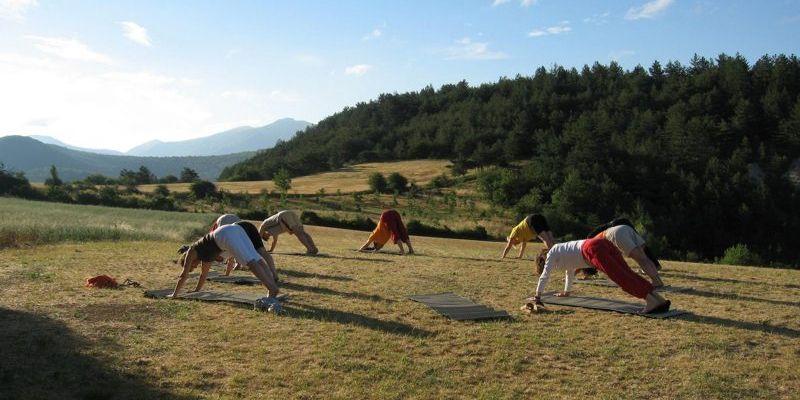 stage randonnée ferme yoge