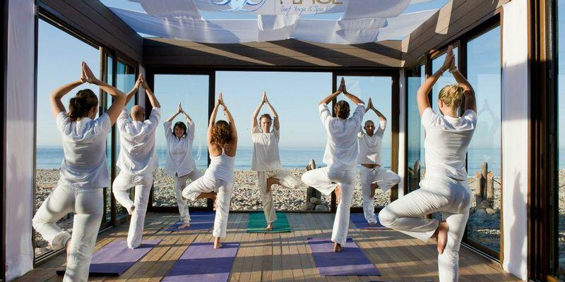 Plage et yoga à Agadir