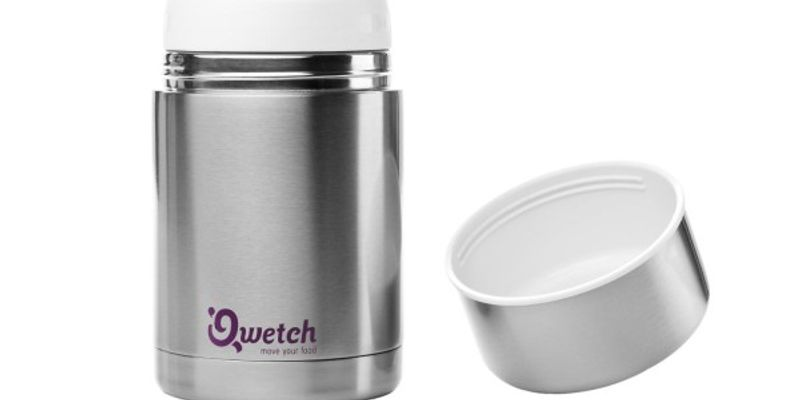 Boite repas inox isotherme 500 ml - Qwetch