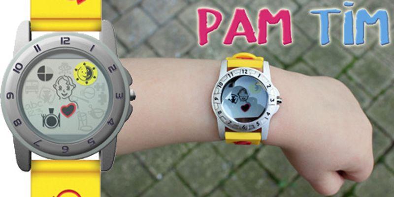 La montre de maternelle Pam Tim aide les enfants à maîtriser le temps