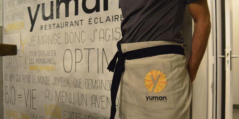 Chez Yuman, côté salle serveur