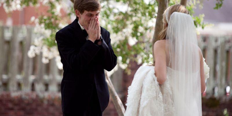 Marié découvre sa mariée 3
