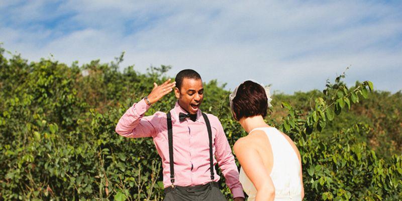 Marié découvre sa mariée 5