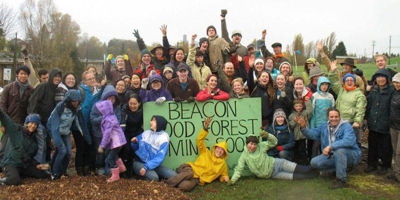Beacon Food Forest, le potager géant en centre-ville