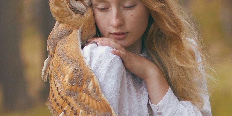 Katerina Plotnikova chouette redhair magie