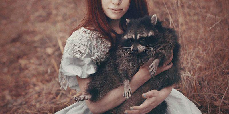 Katerina Plotnikova raton laveur redhair