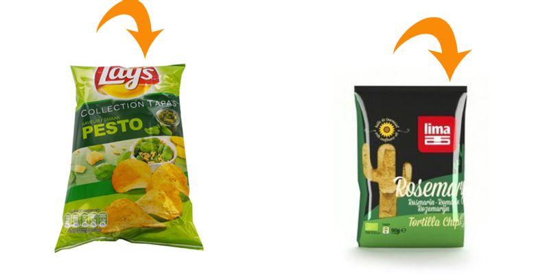 chips lays protéines de lait