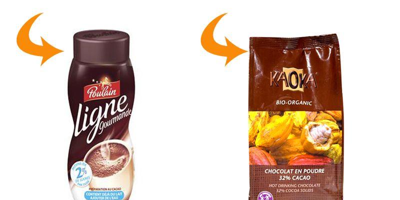 cacao poudre poulain protéines de lait