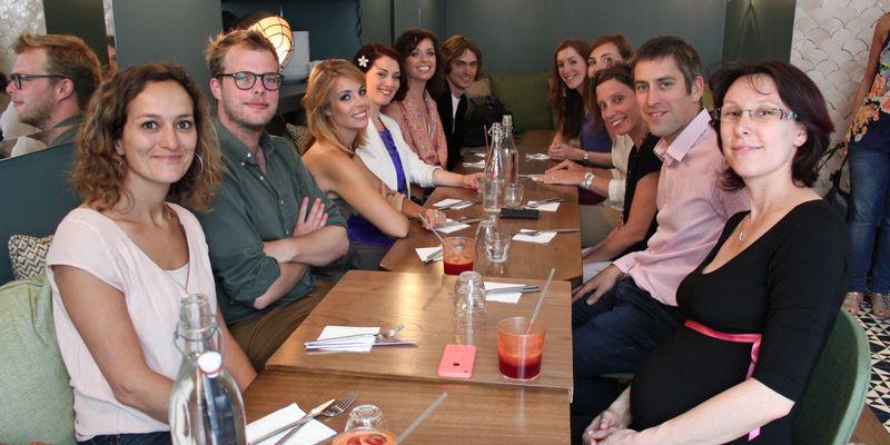 Miss Bio 2014 déjeuner Café Pinson