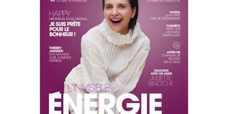 couverture mag femininbio 19