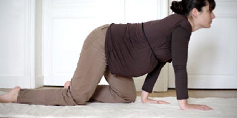 Marche lente pour positionner bébé