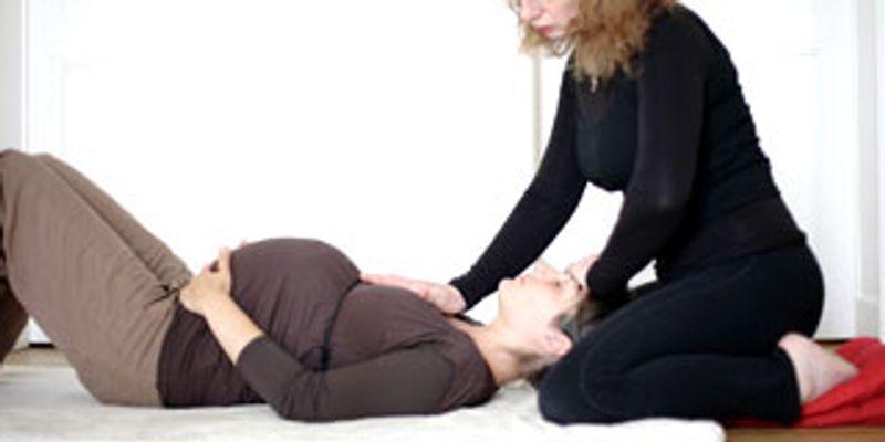 Position pour réduire l'inquiétude liée à l'accouchement