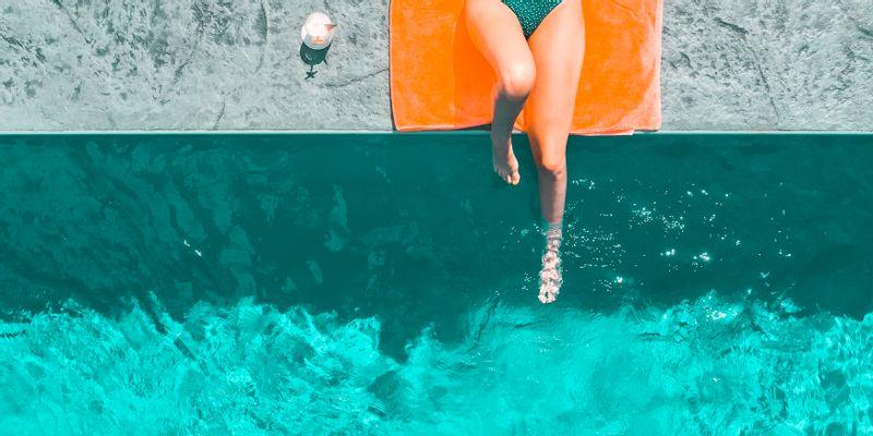 Pour se détendre près de la piscine