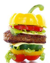 hamburger legume fastfood