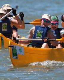Première épreuve du Raid l'Arbre Vert: 18km canoë