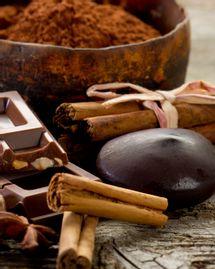 chocolat epices cannelle gingembre noisette