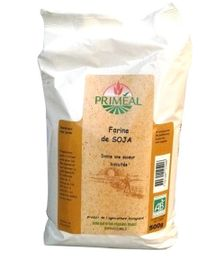 La farine de soja