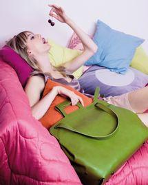 sac plat deux filles en fil