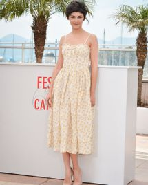 robe audrey tautou cannes 2013