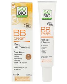 BB Cream mon lait d'ânesse SO'BiO étic® TUBE+BOITE
