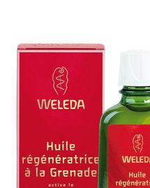 huile regeneratrice weleda