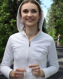 femme sport course