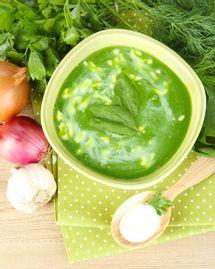 soupe legume épinard recette