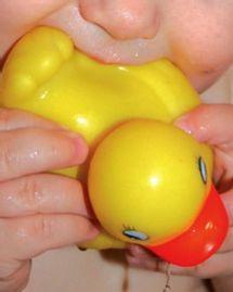 bébé canard jouet