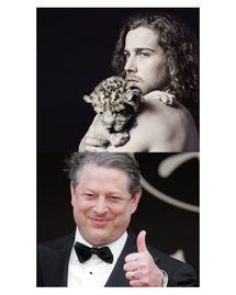 Julien Doré et Al Gore