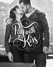 café baiser kiss couple