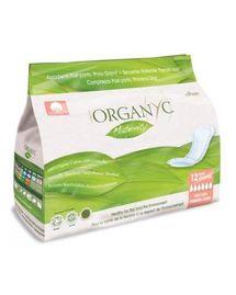 Serviettes 100% coton bio maternité 1ers jours Organyc