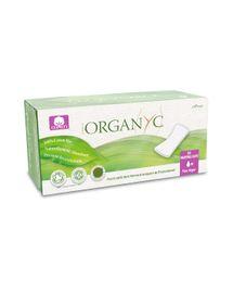Protège-slips 100% coton bio Organyc