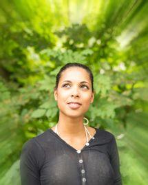 femme esprit conscience vert green