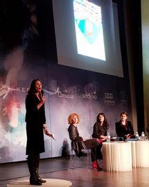 Lisa Salamandra témoin du Parlement du Feminin 2017