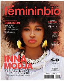 FemininBio Magazine #16 Inna Modja